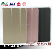 Real leather tablet case for iPad mini 4 leather factory