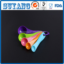 Colorful Different Volume Plastic Measurement Spoon