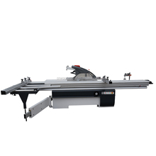 Precision horizontal sliding table panel saw woodworking machine