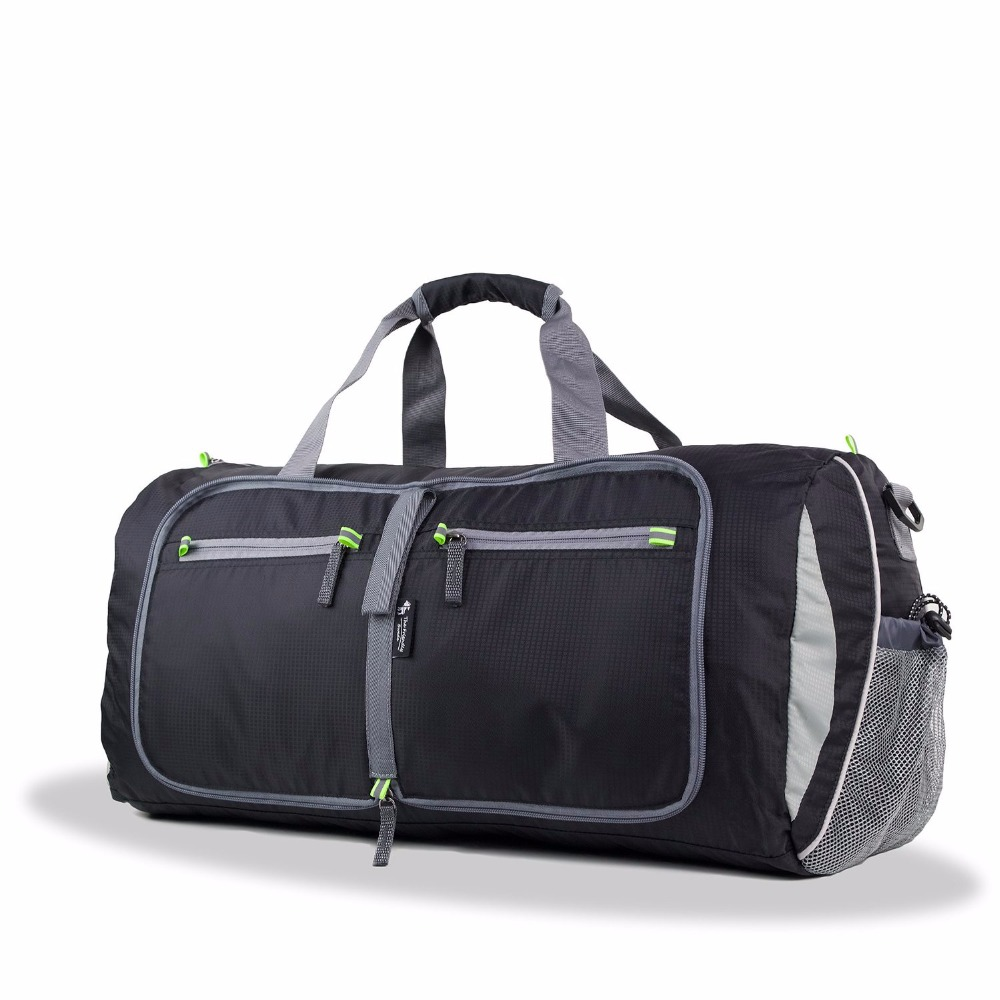 New Design Foldable Lightweight 48L Travel Duffel Bag with Padlock