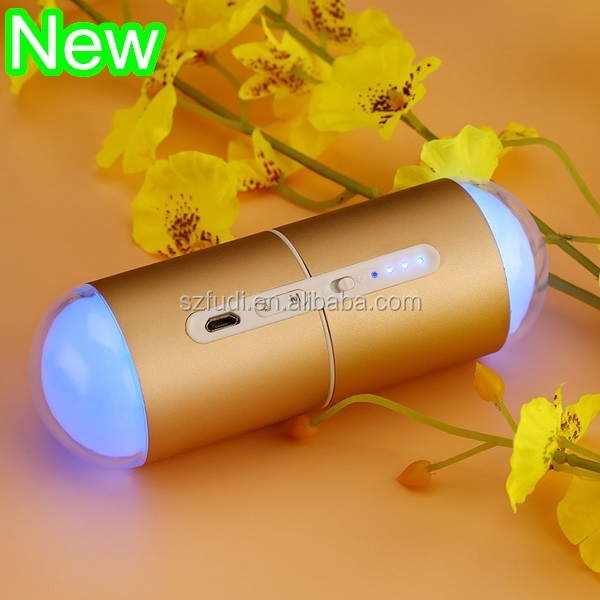 Amazon USB Colorful led small night light, bedside lamp, hand warmer and power bank