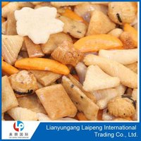 good quality japanese snacks mixed rice crackers cheap price from factory