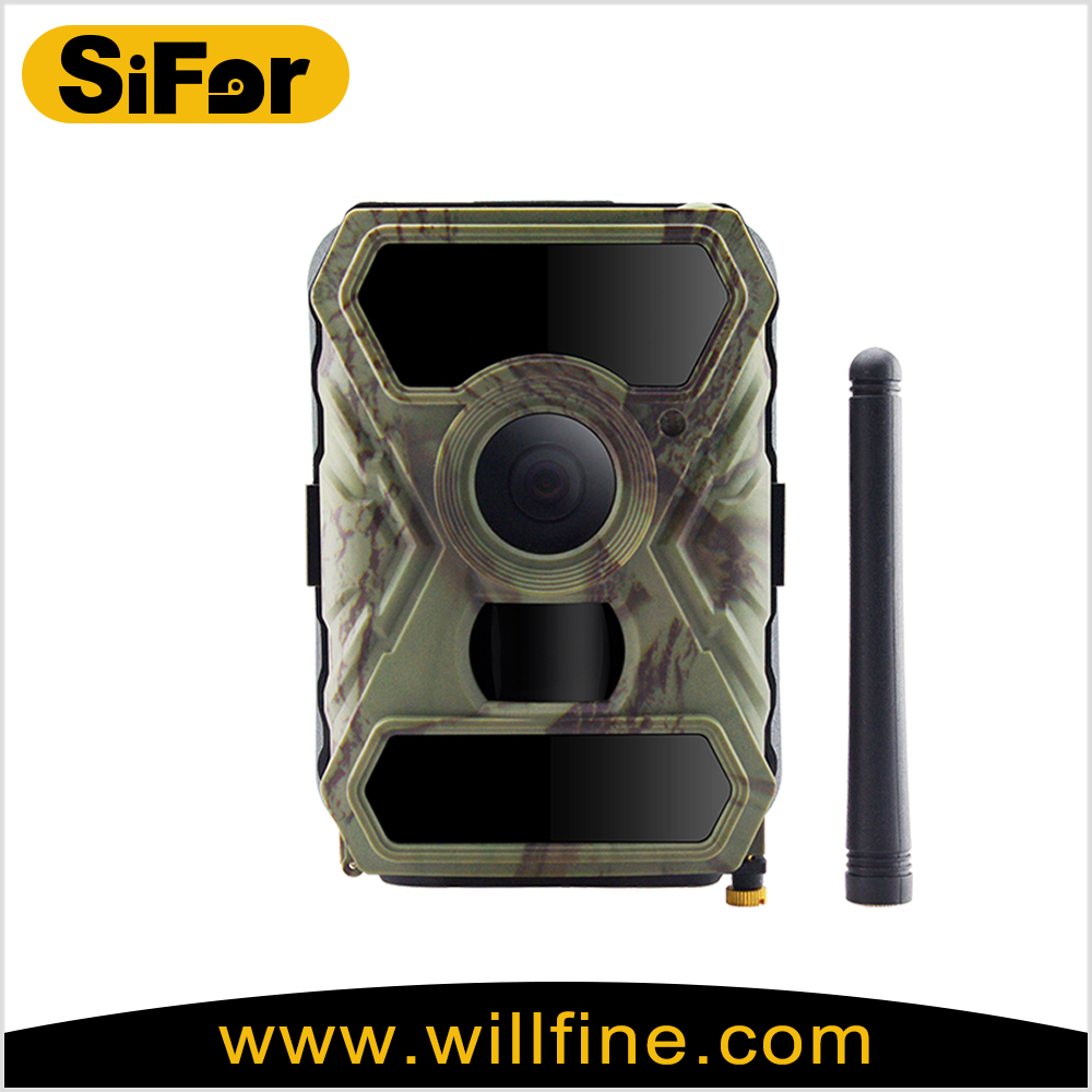 wide lens 3G hunting cameras with 12MP 1080P 940nm no glow IR LEDs for wireless security