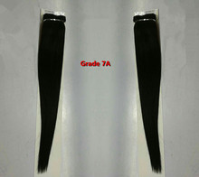 Human virgin brazilian straight hair bundle