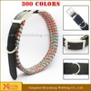 wholesale new design nylon dog collars metal buckle