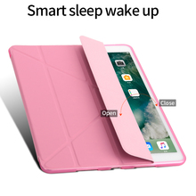 New Styles 15 Colors Available Ultra Thin Leather Flip Cover For Ipad Tablet Case