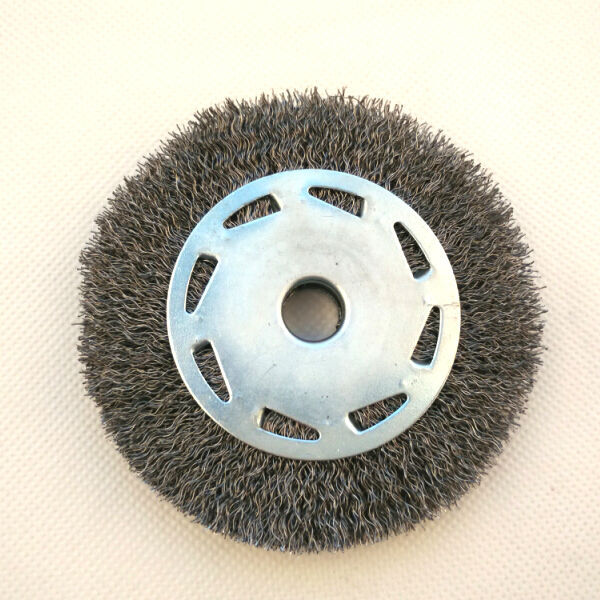 single section wheel brushes, diameter 100mm or 4""