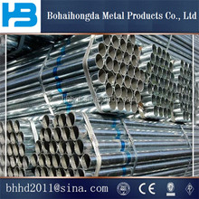 2016 From Tianijn China Trade Assurance Manufacturer galvanized steel pipe for greenhouse frame