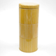 Wholesale bamboo printing design chinese loose tea storage leaf containers