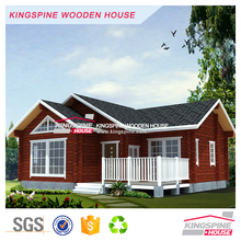 Hot sell prefab log house prefabricated wood cabin KPL-011