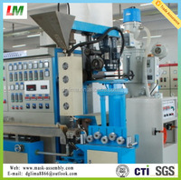 Physical-foaming coasial cable extrusion production line