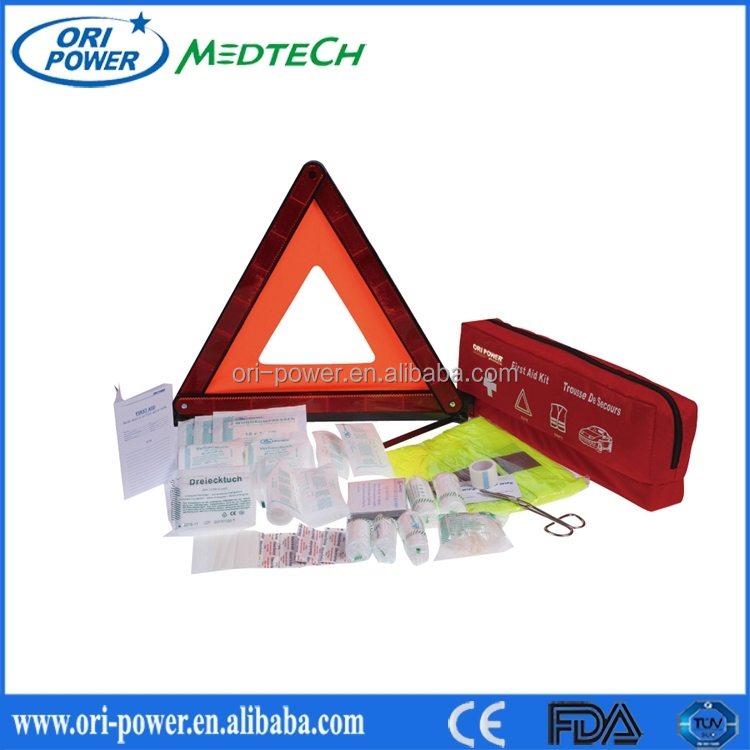 OP manufacture FDA ISO CE approved wholesale professional durable vehicle auto roadside car emergency kit