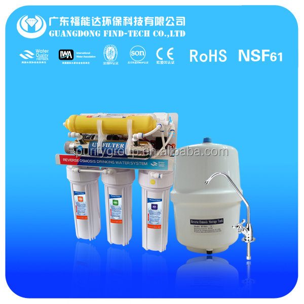 reverse osmosis system 7 stage mineral water plant price uv led water treatment