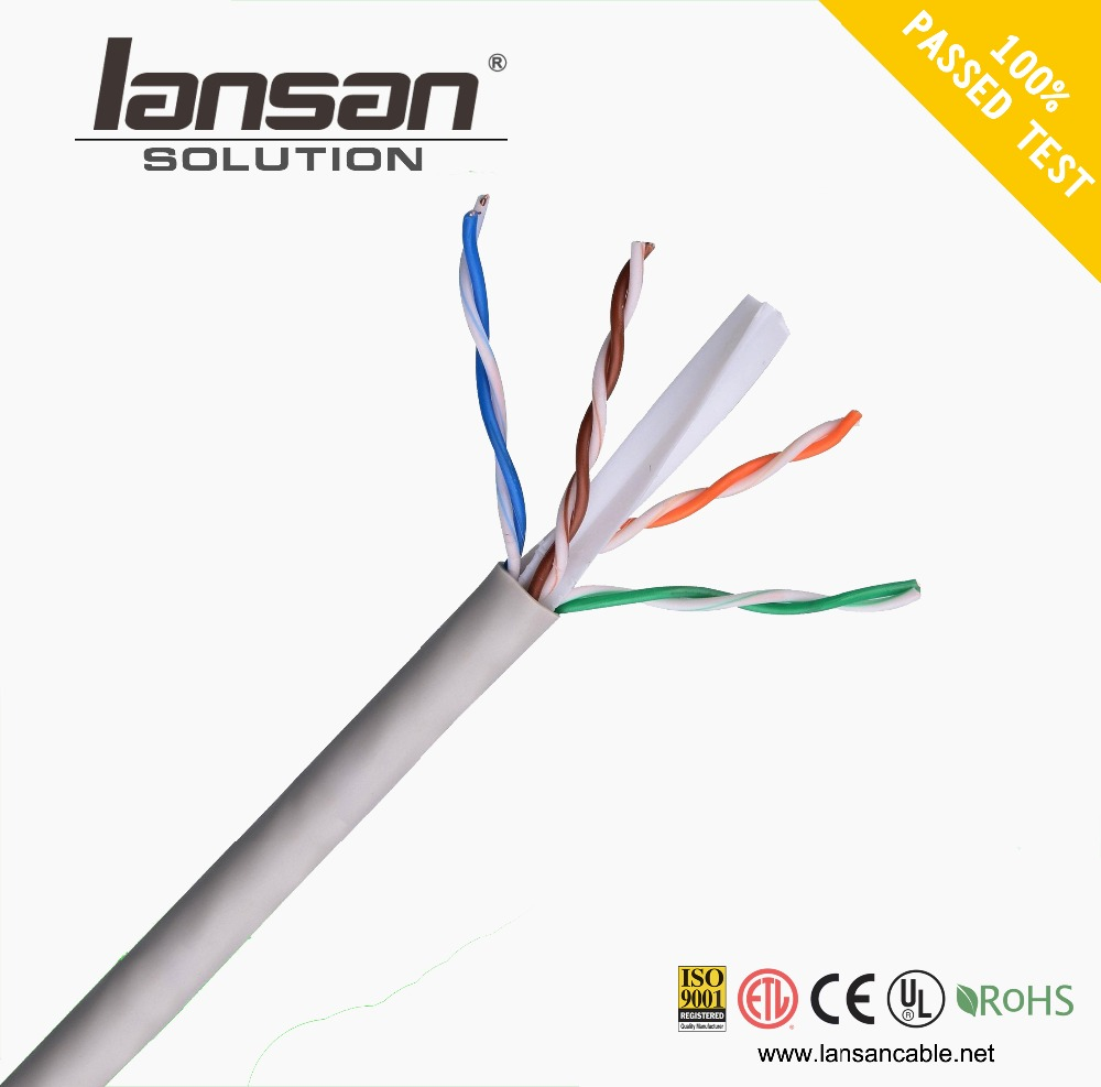 Save More Your 20% Cost 350mhz plenum solid 0.57mm lszh jacket indoor bulk cat7 Networking Lan Cable
