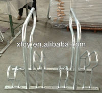 high quality four bike rack / floor mounted bike parking standISO SGS TUV approved)