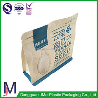 new products recycled food plastic bag craft paper bags