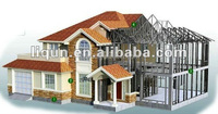 modular prefabricated easy assembled glass houses