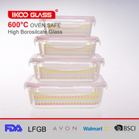 premium glass meal prep food storage containers