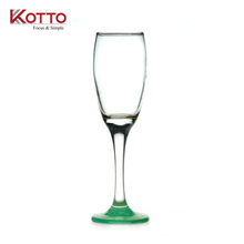 170ml Spray color champagne at the bottom of the cup goblet/kotto glass cup