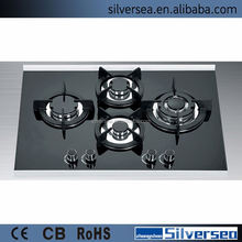 New fashion 4 plate gas stove build in gas cooker hob