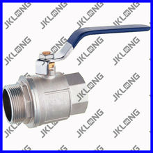 "J2002 Nickle Plated Brass Ball Valve(Female&Male Thread),1/2"" ~2"",PN 25"