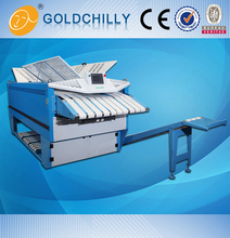 Three Fold Hand Towel Bed Sheets Automatic Folder Gluer Machine