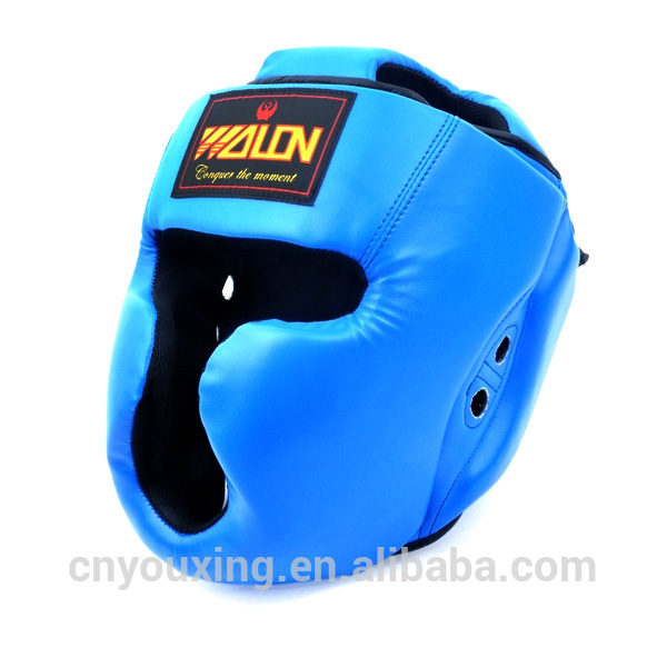 High quality kick boxing boxing helmet and head guard casco de boxeo
