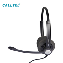 Factory made wired call center gaming headphones with microphone