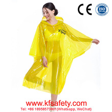 China fashion safety plastic waterproof pvc raincoat for motorcycle woman pvc film rain coat