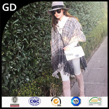 GDK0128 Black Jewel 100% Pure Wool Cheap and Chic Scarf