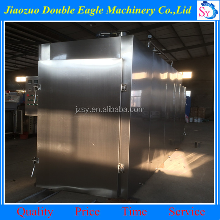 High capability Automatic grill chicken gas oven/meat sausage baking machine