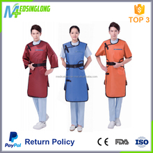 factory price clinical X-ray protection medical lead gown/Medical lead apron