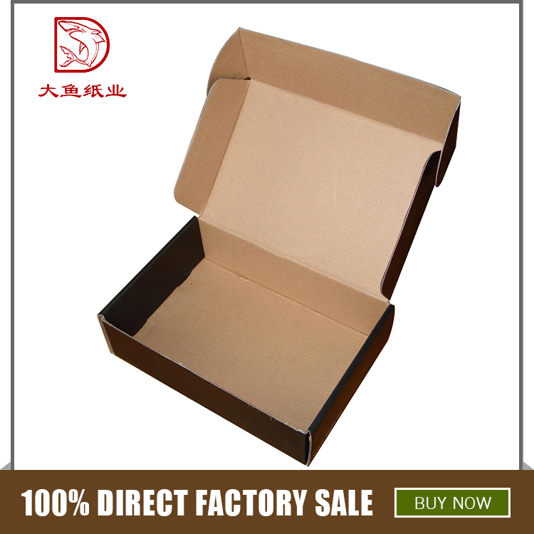 Different types recyclable corrugated paper gift packaging box supplies