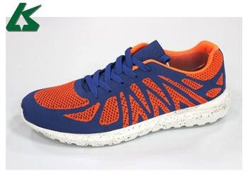 Good selling fly knit air walk shoes sports shoes