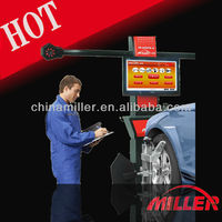 MILLER 32''LCD,easy software,new visual 3d used four wheel alignment equipment for car diagnostic tools ce approval(ML-3D-II)