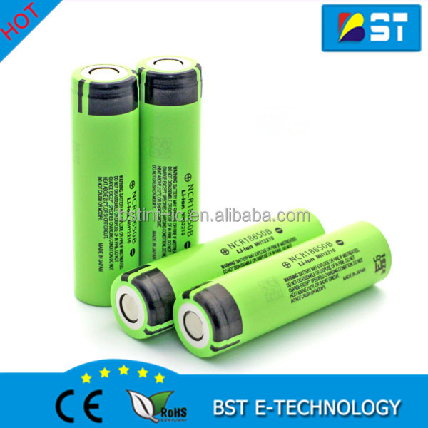 Best Store Original Japan cells Panasoni NCR18650B high power lithium ion rechargeable battery 18650b 3400mAh