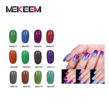 Temperature Change Color Changing Gel Polish