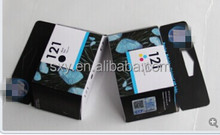 Original for hp 121 301 802 color ink/inkjet cartridge with high capacity
