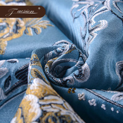 Woven Ethnic Patterned Samples 100% Polyester Jacquard Fabric