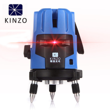kinzo Modular Design Easy Maintenance Laser Level with 5 Red Lines