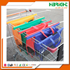 wholesale supermarket polyester nylon reusable foldable folding vegetable shopping cart trolley bag