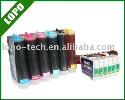 CISS For Epson Photo 1400 With Combo Chip and Dye ink