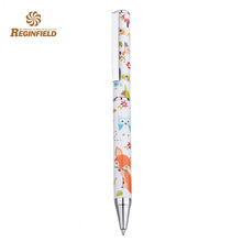 Wholesale cheap metal ballpoint pen with full printing
