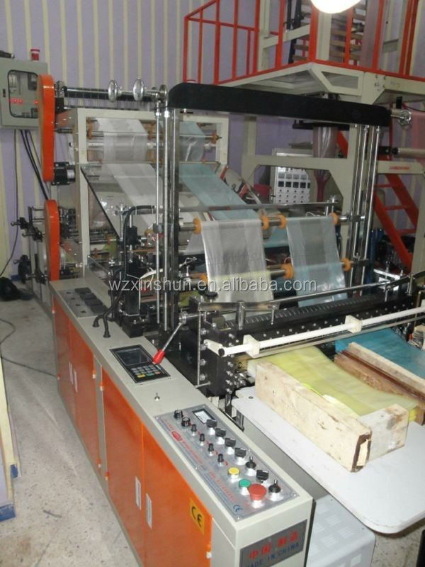 plastic flalt bag making machine,plastic bottom sealing bag making machine,plastic cold cutting bag making machine