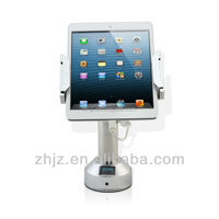 2015 innovate products desktop pc stand for ipad anti-theft alarm device clamp holder