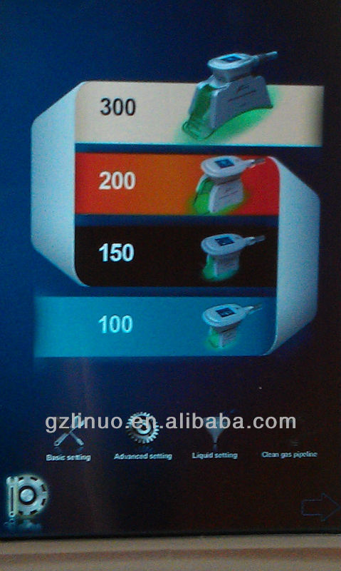 4 poignées cryolipolysis Graisse minceur gel machine