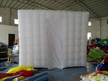 Promotion Custom LED lighting inflatable photo booth ,used photo booth for sale