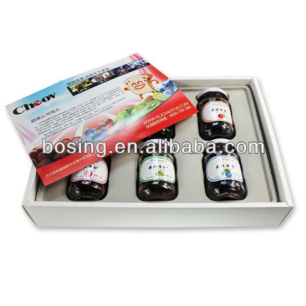 food gift paper box with tray