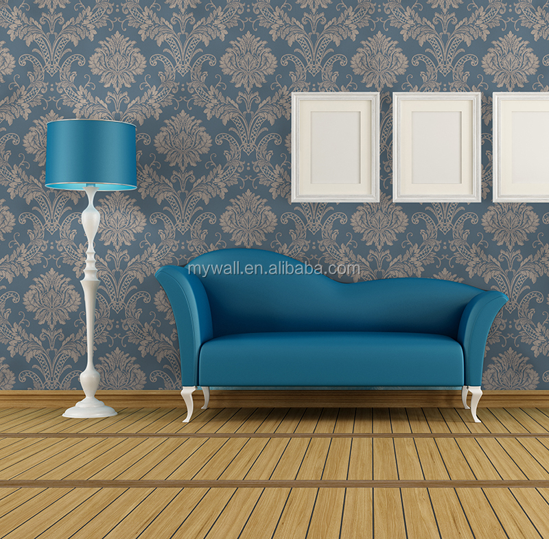 very high quality modern damask wallpaper