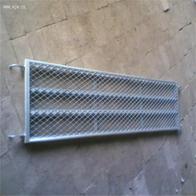 Tianjin Strong Bearing Capacity Galvanized Perforated Structure Catwalk Walking Board Scaffolding Steel Walk Plank